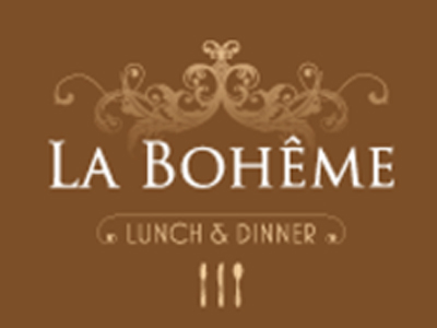 Logo of restaurant La Boheme